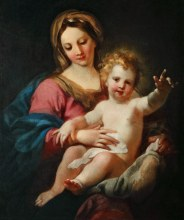 Madonna; Virgin Mary with Jesus
