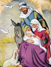The Nativity of Jesus; the Holy Family